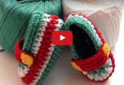 Amigurumi Bebek Patiği Nasıl Örülür Videolu Anlatım