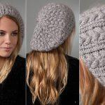 Gri Şapka Modelleri Bayan 2016