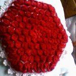 Kırmızı kasnak ponponlu lif örnekleri