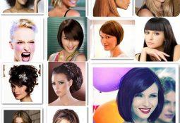 Ters Üçgen Yüze Saç Modeli