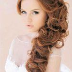 Yandan Uzun Gelin Saçı Modelleri