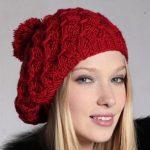 Bayan Kırmızı Şapka 2016