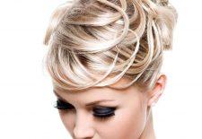 nişan saç modelleri maşa