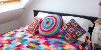 tig isi patchwork yatak örtüsü örnekleri