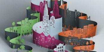 Şehir Temalı Kağıt Kesme Sanatı