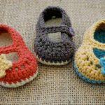 Tunus işi bebek patikleri